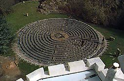 Benton Castle Labyrinth