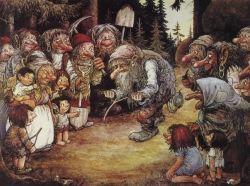 Troll dowsing